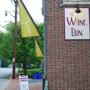 The Wine Bine Sign