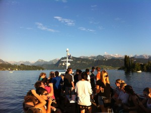 Boat Tour at Lake Lucerne